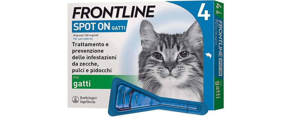 pipette (Spot-On) per gatti (protezione zecche, pulci e pidocchi)