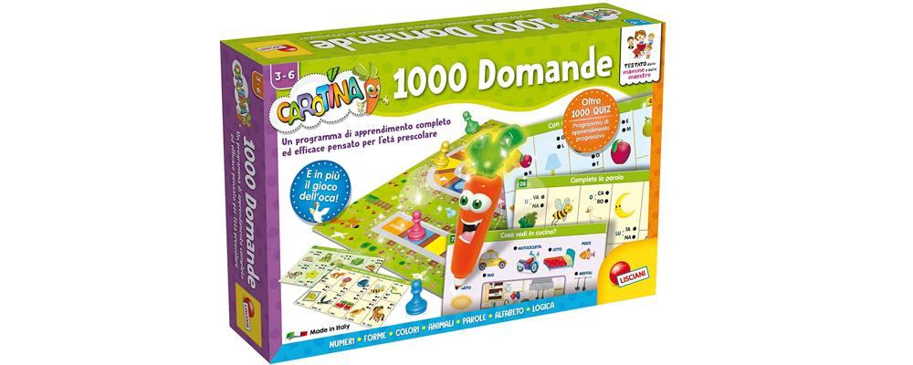 Carotina Penna Parlante 1000 Domande, il miglior gioco in scatola da tavolo