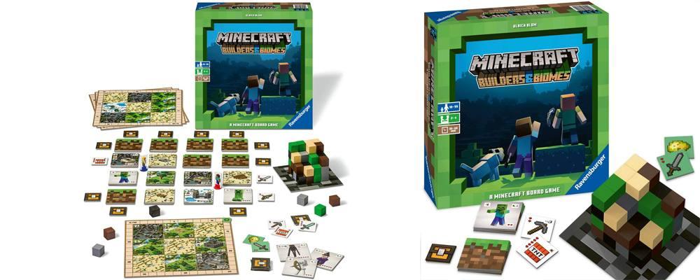 Minecraft Builders & Biomes, il miglior gioco in scatola da tavolo