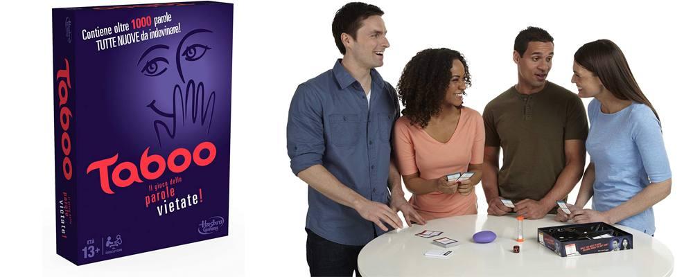 Taboo, il miglior gioco in scatola da tavolo