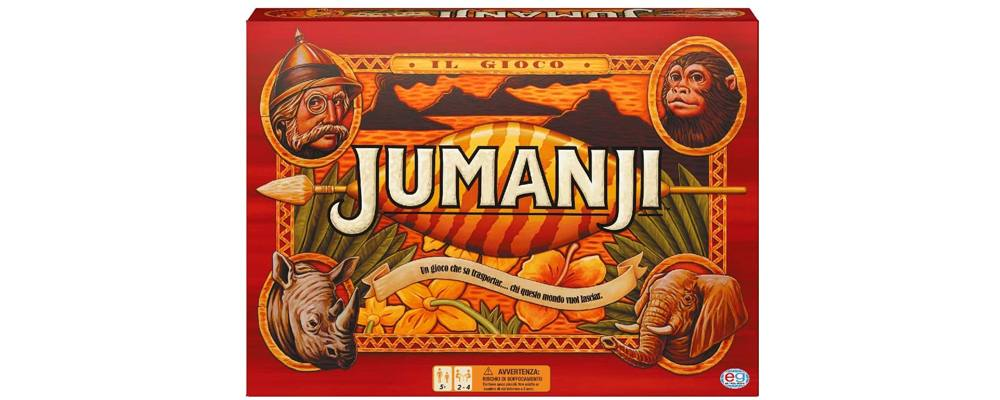 Jumanji, il miglior gioco in scatola da tavolo