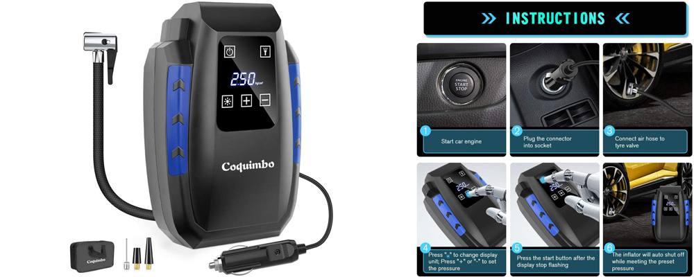 compressore portatile per auto
