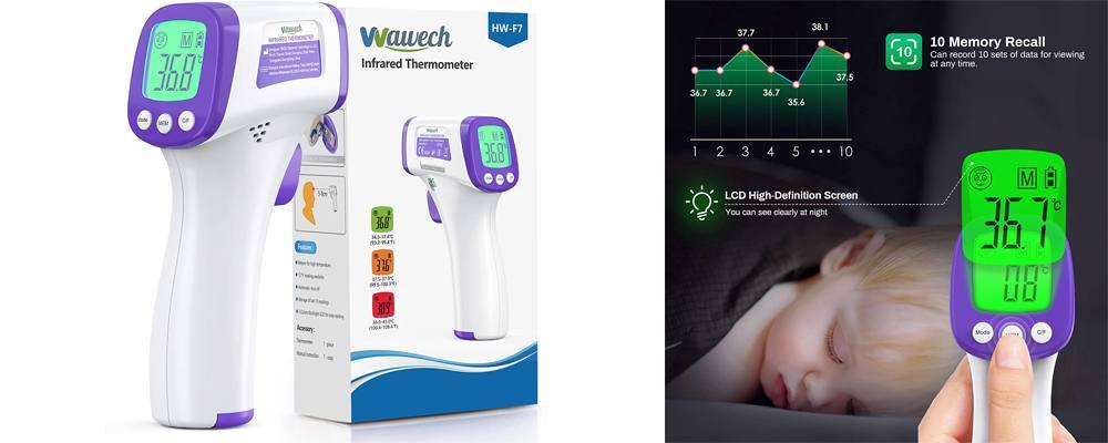 termometro per febbre a infrarossi