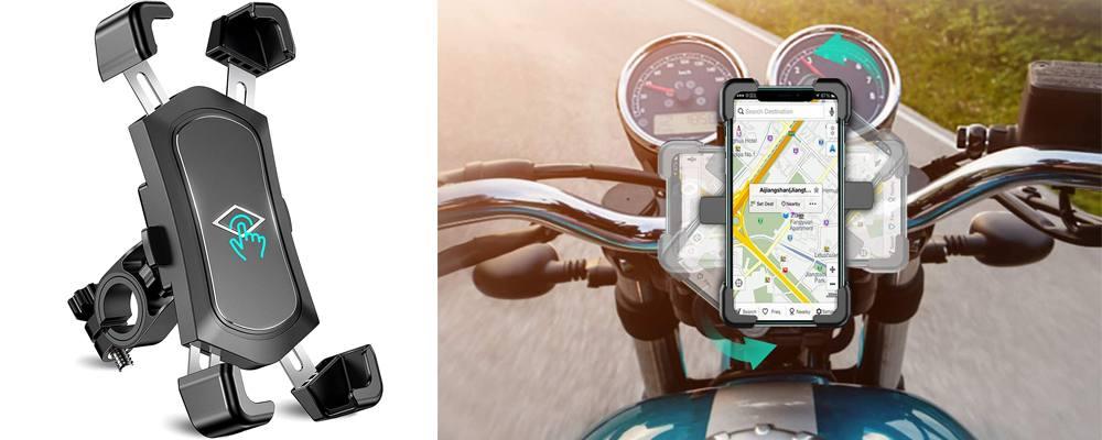 porta cellulare per moto