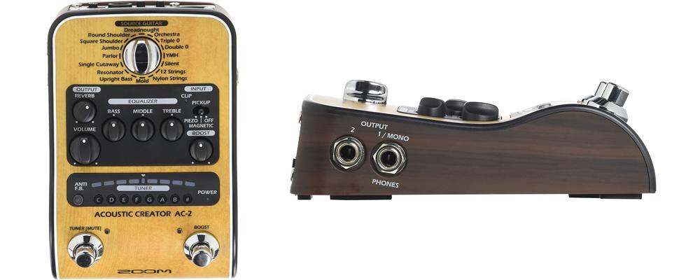 Zoom - AC-2/IFS, il miglior multieffetto per chitarra acustica